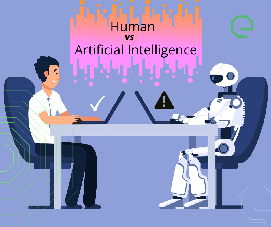 Human vs Artificial Intelligence (AI)
